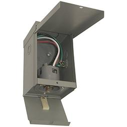 Connecticut Electric 30 Amp Power Inlet Box with Hinged Door