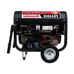 Powerland PD4400E 4.4 KW Portable Gas Generator 7.5 HP ELECT