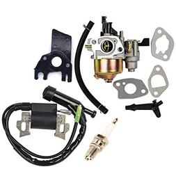 HIFROM Repalce Carburetor Ignition Coil with Spark Plug for