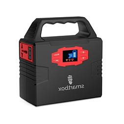 Smartbox Powerful Solar Generator –Portable Power Charging