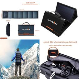 Solar Panel Charger 40W Foldable Power Camping Travel For Po