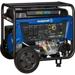 Westinghouse Generator Dual Fuel Gasoline or Propane with Re