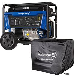 Westinghouse WGen5500 Portable Generator with Cover - 5500 R