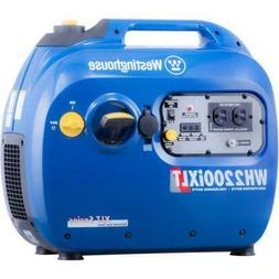 Westinghouse WH2200iXLT 1800W/2200W Gas Inverter Generator N