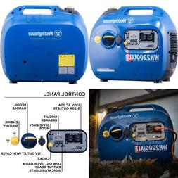 Westinghouse Wh2200Ixlt Super Quiet Portable Inverter Genera