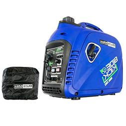 DuroMax XP2000EH Dual Fuel Generator, Blue XP2000iCOV Small