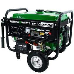 DuroMax XP4850EH 3500W/4850W Dual Fuel 7 HP Electric Start G